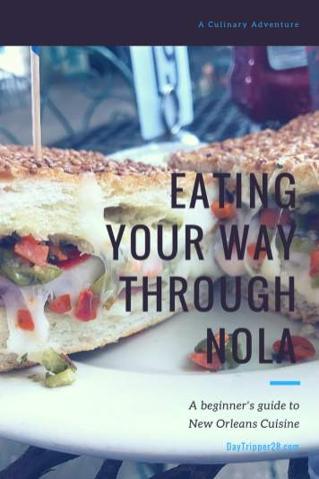 a beginners guide to new Orleans cuisine: A beginners guide to Cajun cooking, the Bayou and all foods in the French Quarter. You won't want to miss this guide to eating your way through NOLA. Foods to Try in New Orleans #Foodie #NOLA #NewOrleans #DiningGuide