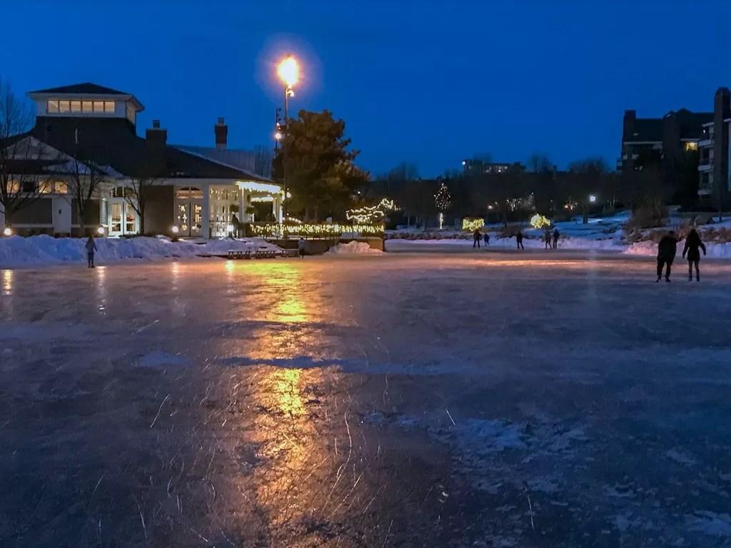 Centennial Lakes warming house