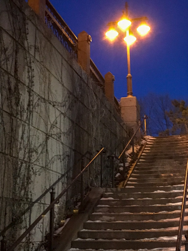 Centennial Lakes Stairway