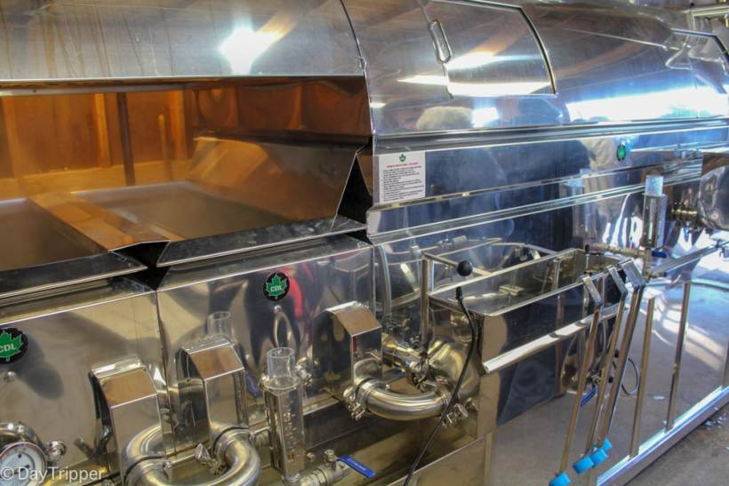 Industrial Maple Syrup Production