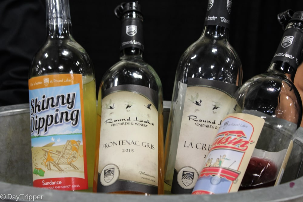 Did someone say Skinny Dipping? Oh wait, that just a wine at Round Lake Vineyards