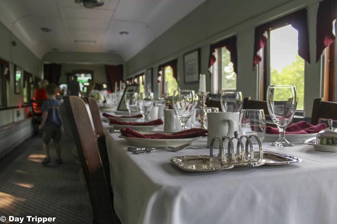 Dinning Car Train in Minnesota