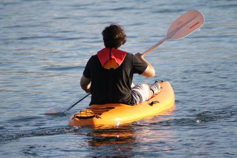 Kayaking down the mississipi