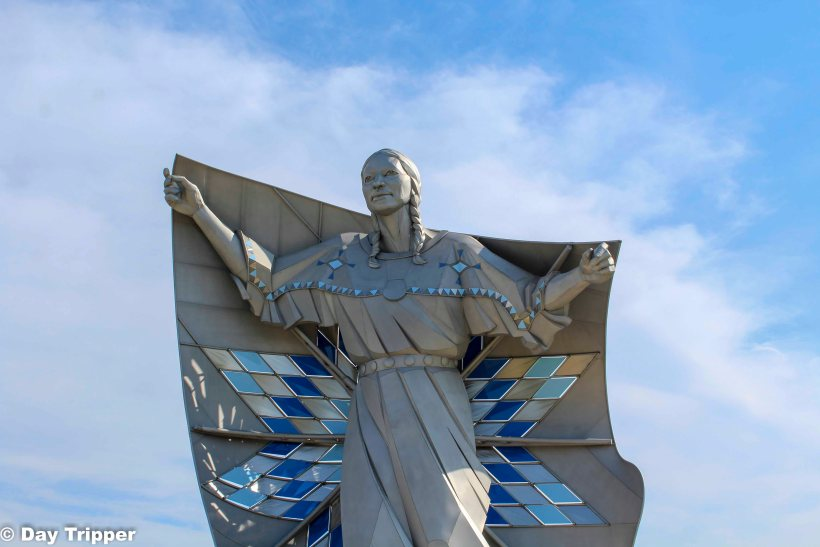 The Dignity Statue on i90 South Dakota