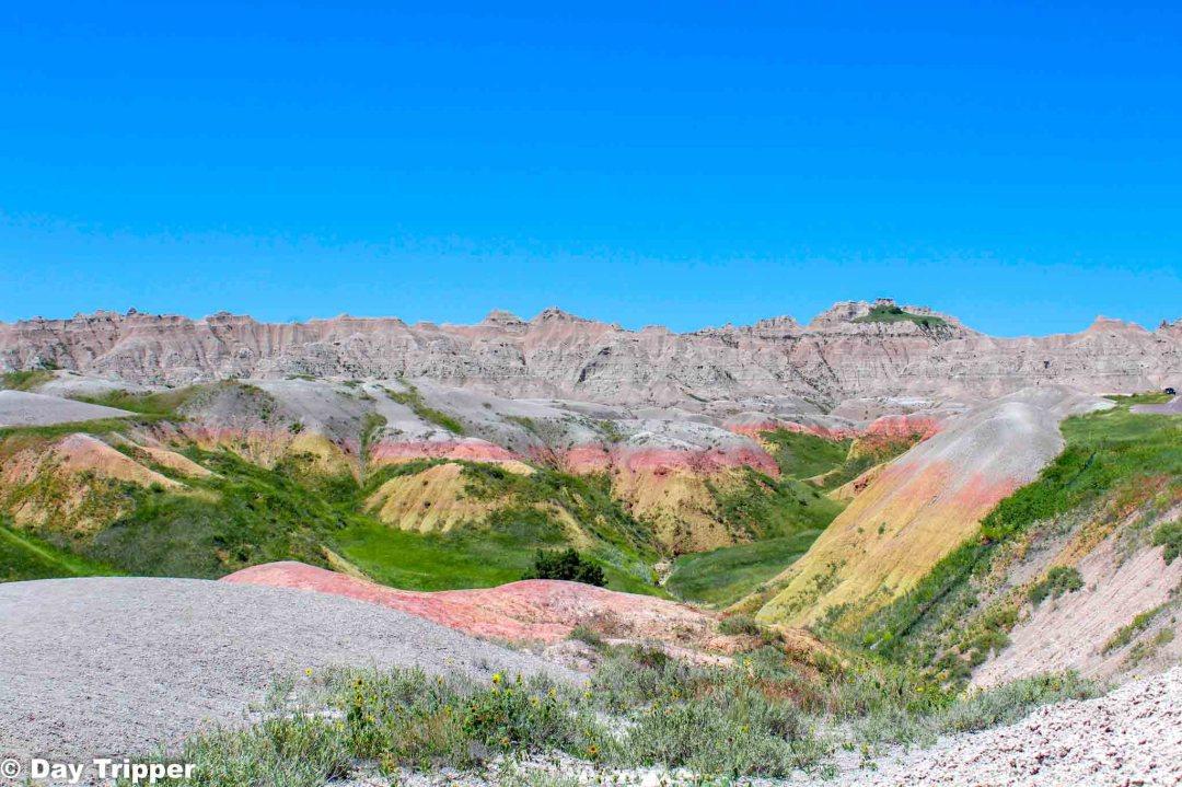 Badlands National Park Painted Rocks