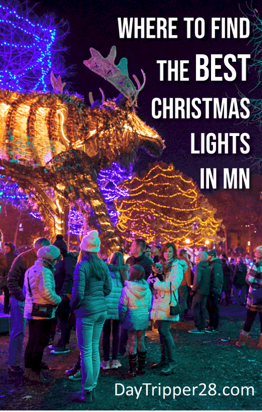 The Best Christmas Light Displays in Minnesota all in one place. Festivals | Winter in MN | Minneapolis | St Paul | Things to do | Photo Credit Dusty Hoskovec Photography