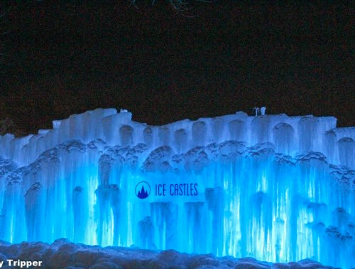 The Ice Castles Exterior