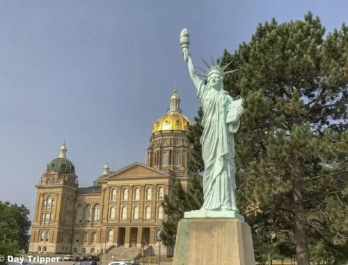 Iowa State Capitol Exterior Taking a Tour
