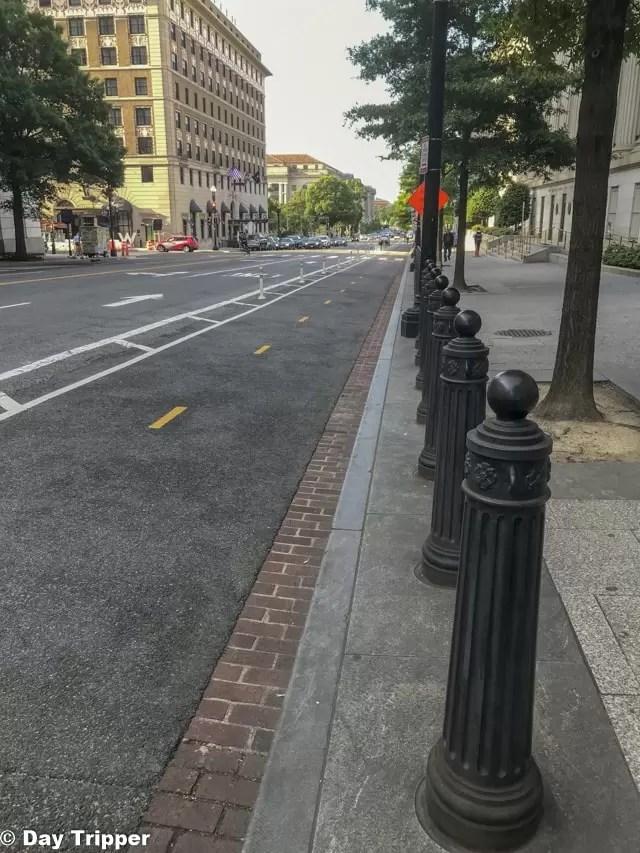 Washington DC Bike Lanes