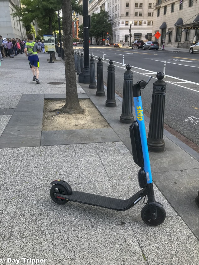 Renting a Scooter in Washington DC