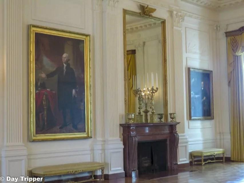 East Room George Washington's Portrait