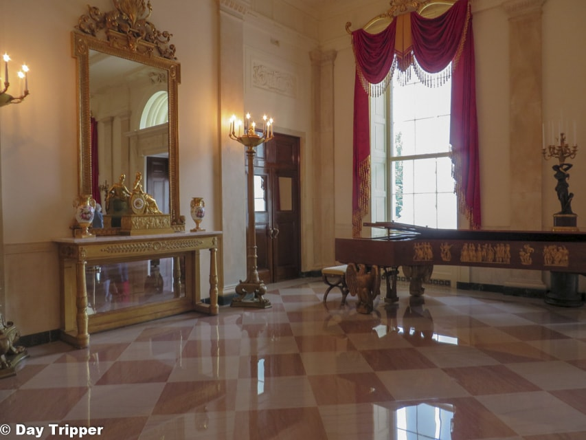 The Entrance Hall to the White House