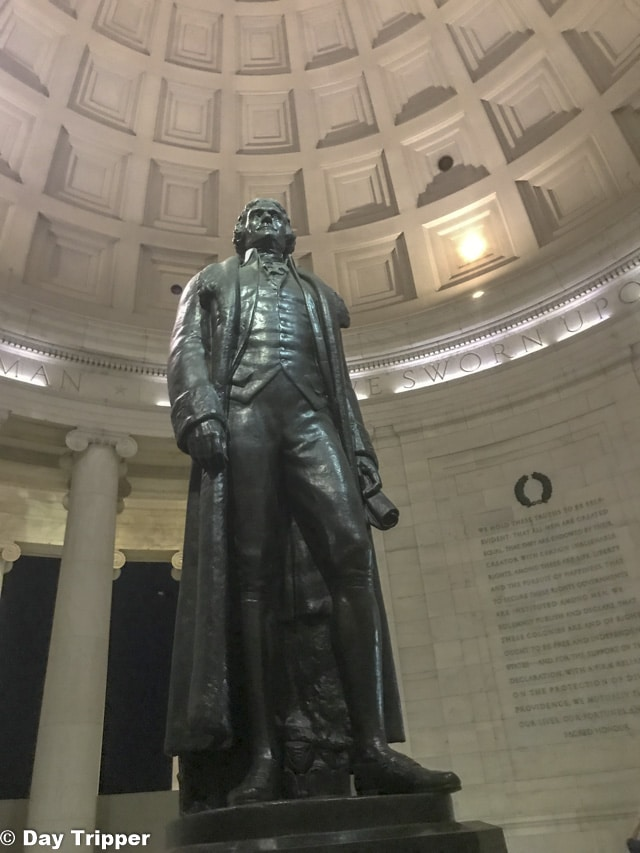 Inside Jefferson Memorial