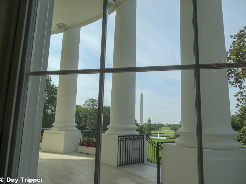 The Washington Monument from the White House