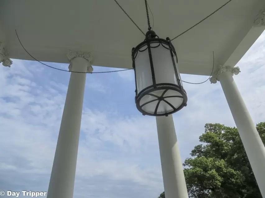 Portico Lantern in the White House
