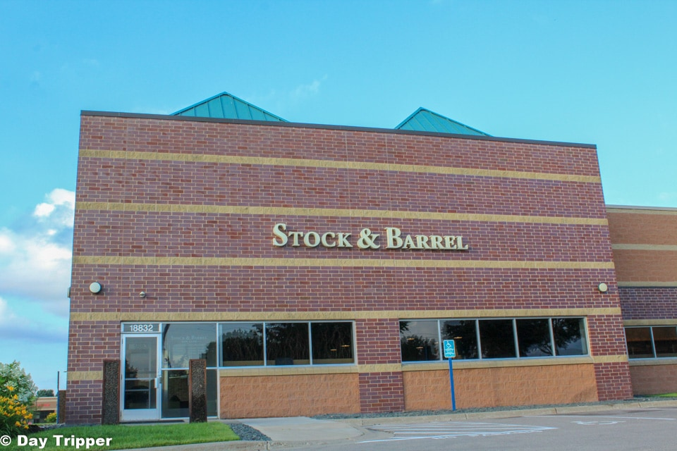 Stock and Barrel indoor gun range in Chanhassen.