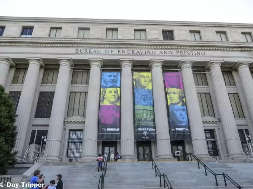 The Bureau of Engraving And Printing Tour in Washington DC