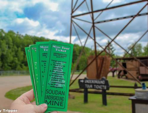 Soudan Underground Mine Tickets