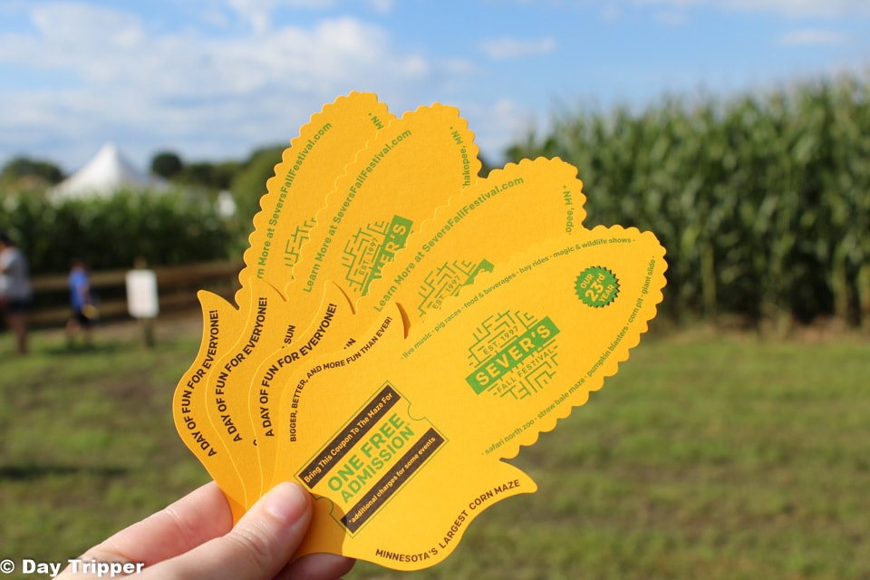 Severs Corn Maze Tickets