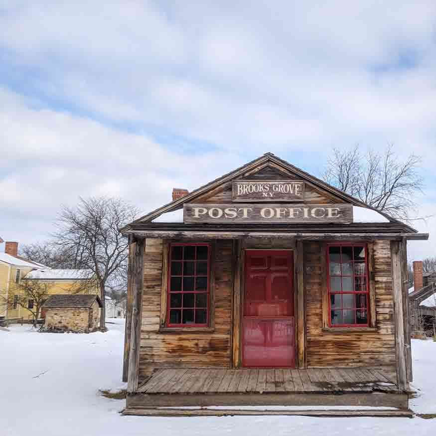 post office winter
