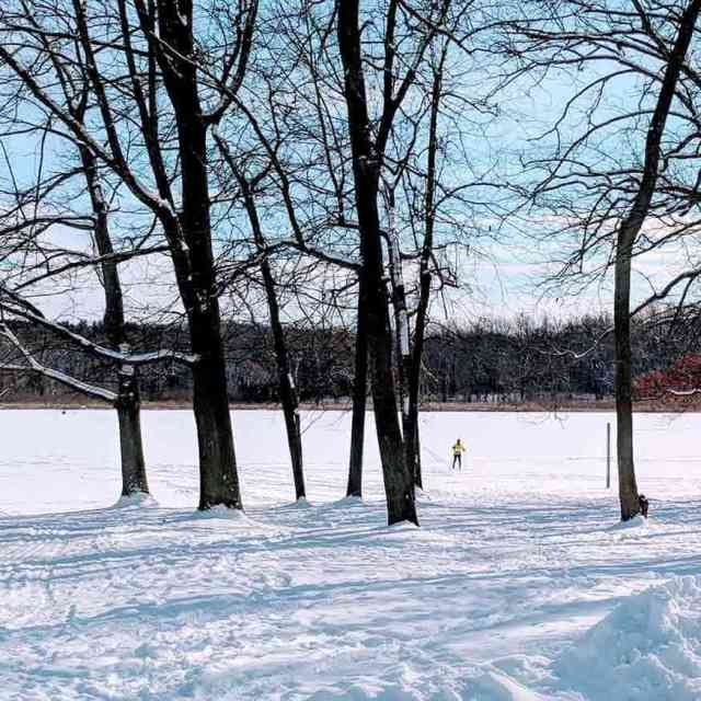 Mendon Ponds Park Monroe County XC Skiing