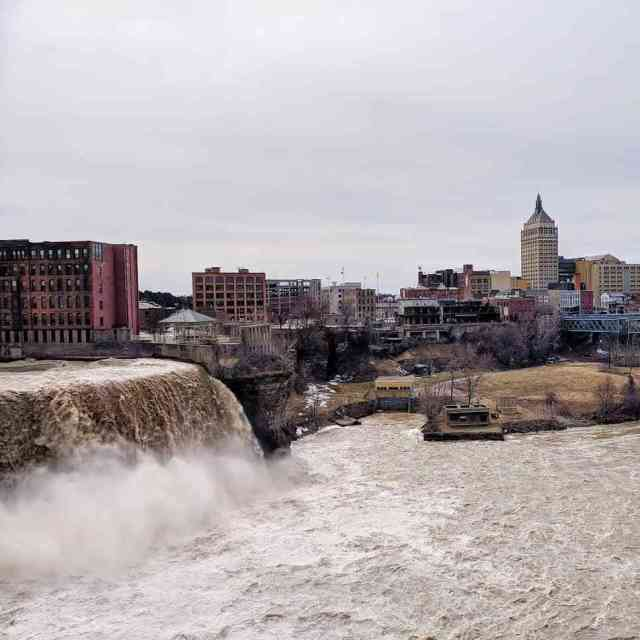 High Falls Genesee River Rochester