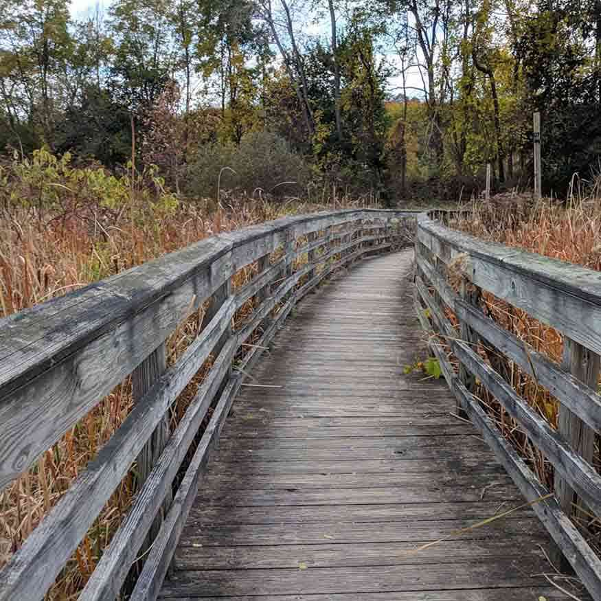 30 Day Trips within 30 Minutes of Rochester: Erie Canal Fairport Thomas Creek Boardwalk
