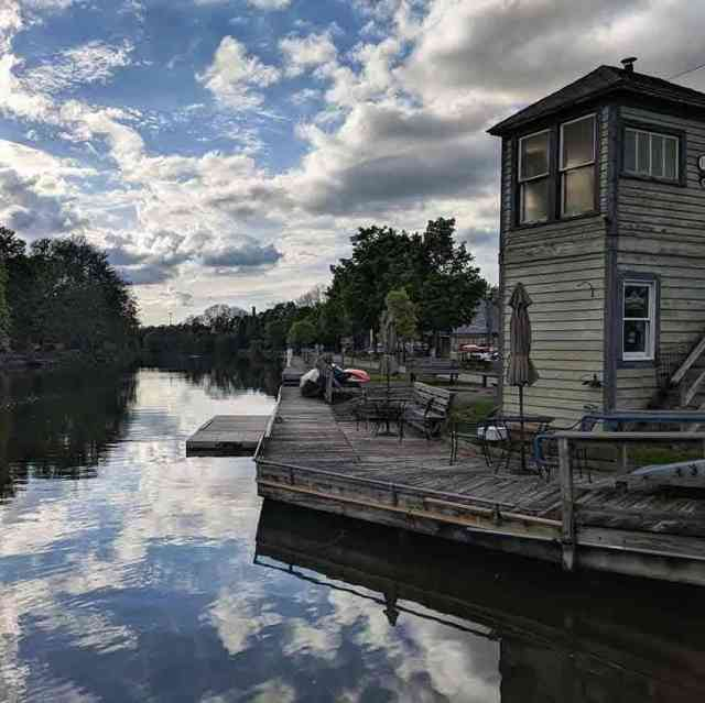 Erie Canal through Fairport