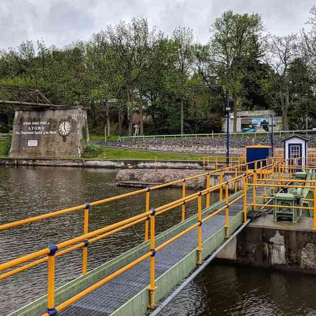 Lyons Erie Canal Lock 27