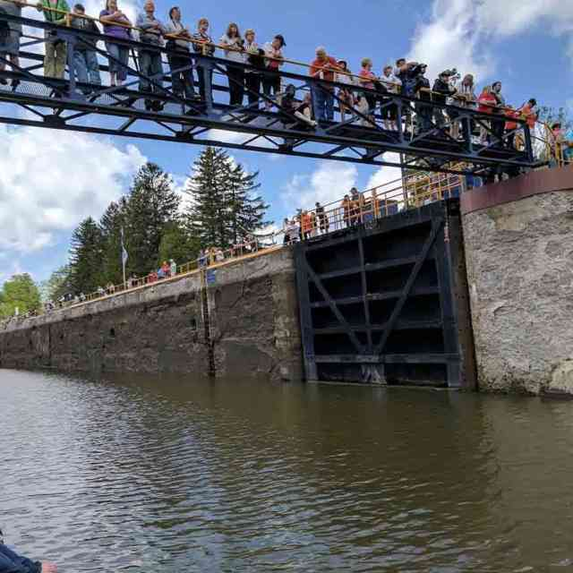 Erie Canal Lock 29 in Palmyra
