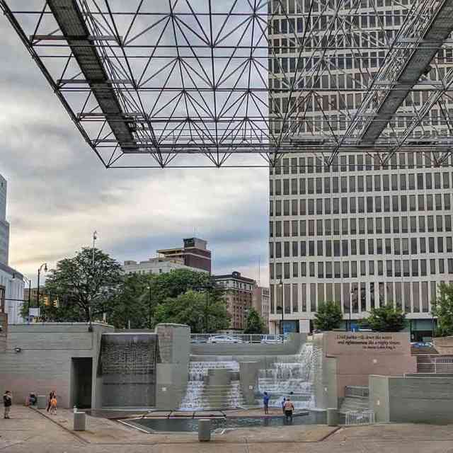Things to do around Rochester NY: Martin Luther King Jr Park at Manhattan Square