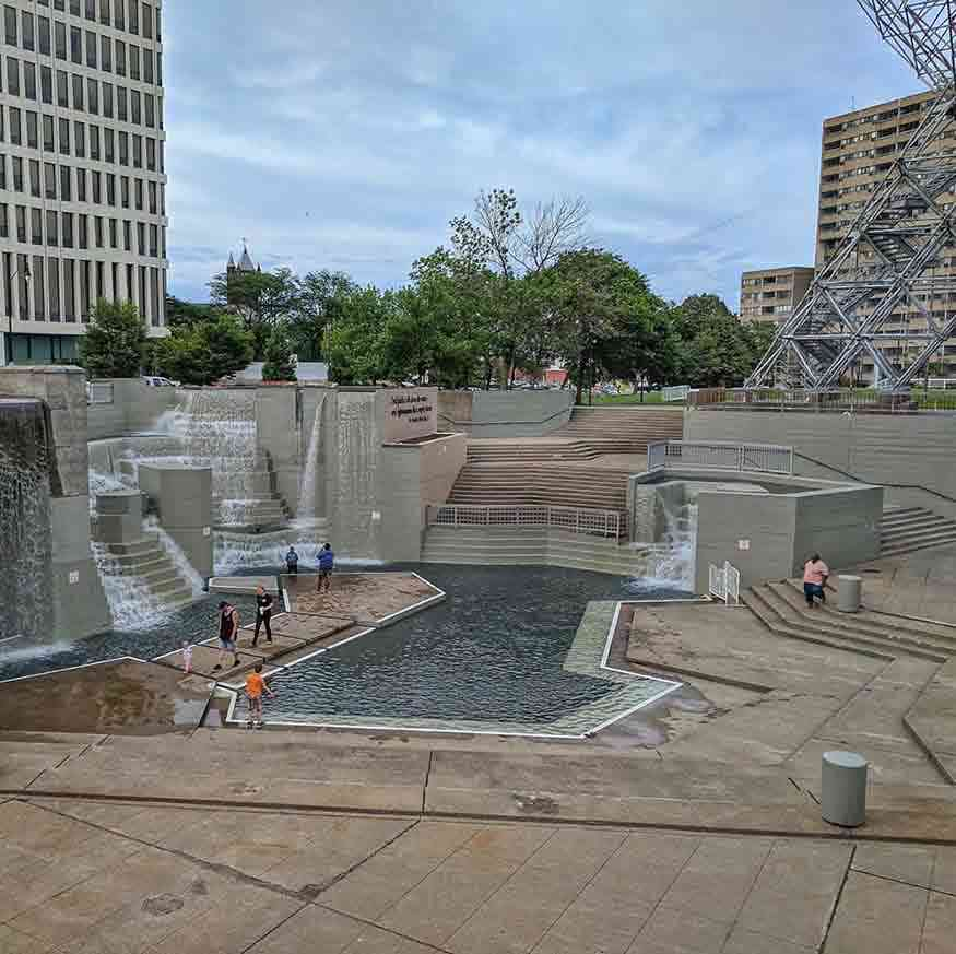 Martin Luther King Jr Memorial Park at Manhattan Square