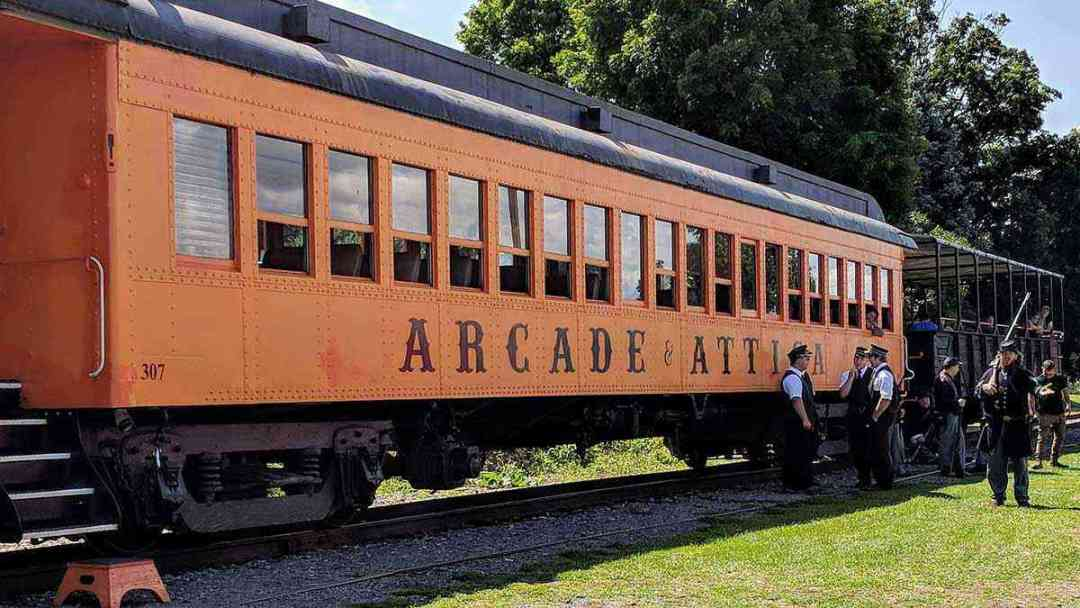 Arcade and Attica Railroad