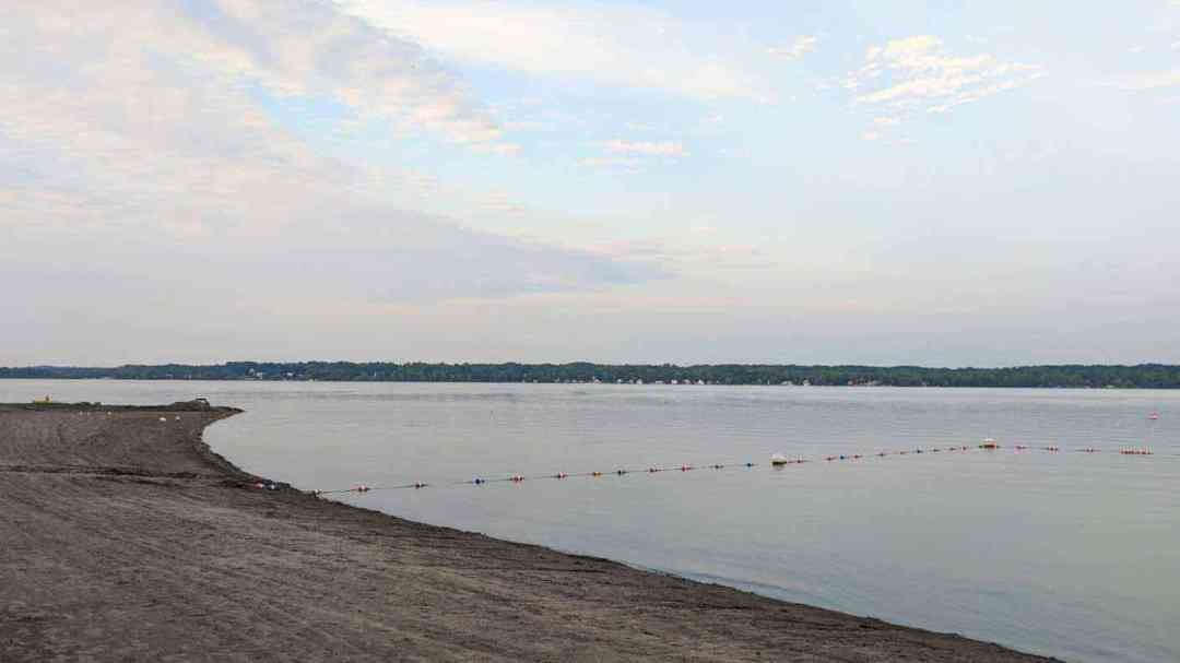 Cayuga Lake State Park beach cover