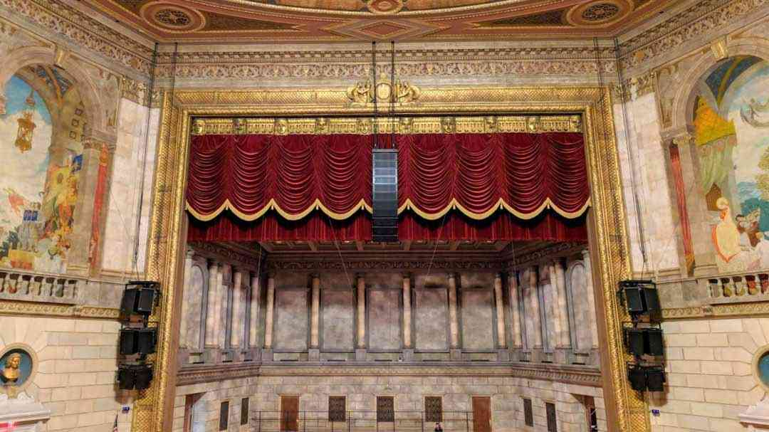 Eastman Theatre stage