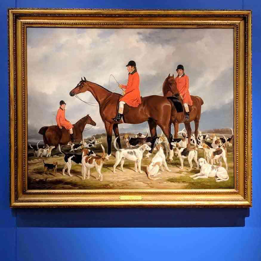 Wehle gallery horses
