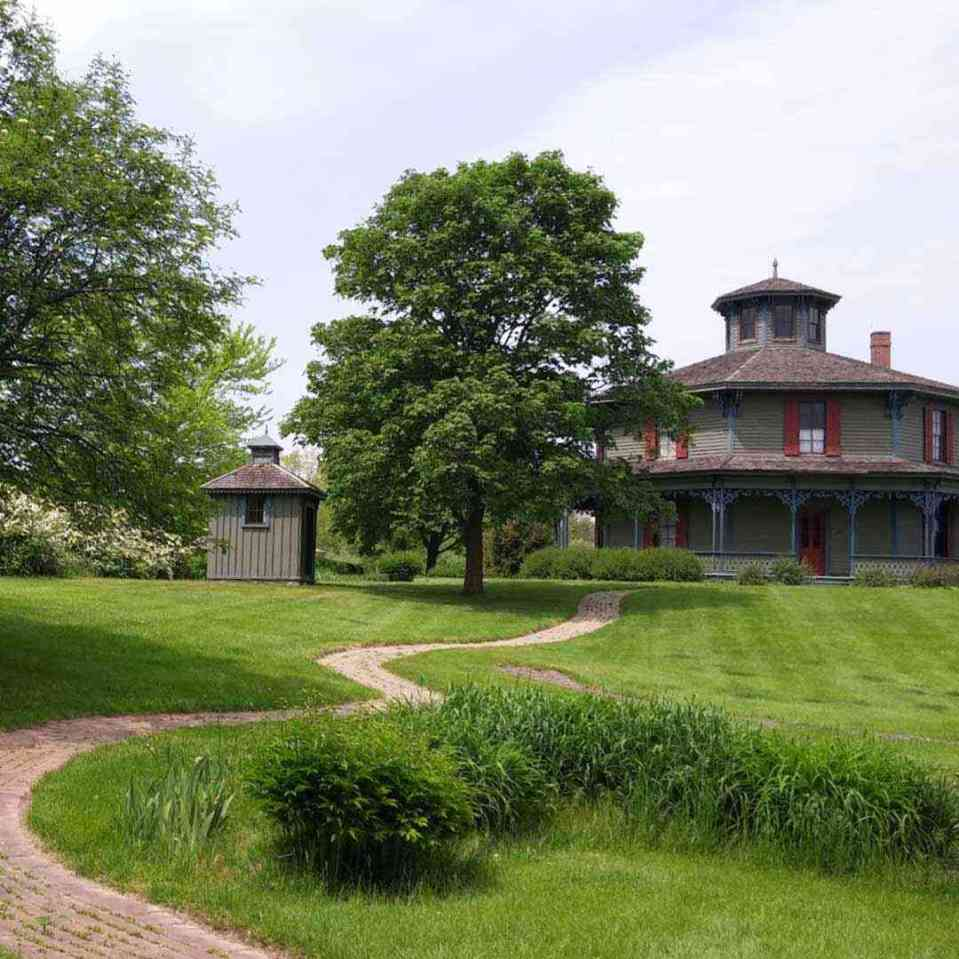 Genesee Country Village and Museum Mumford octagon summer