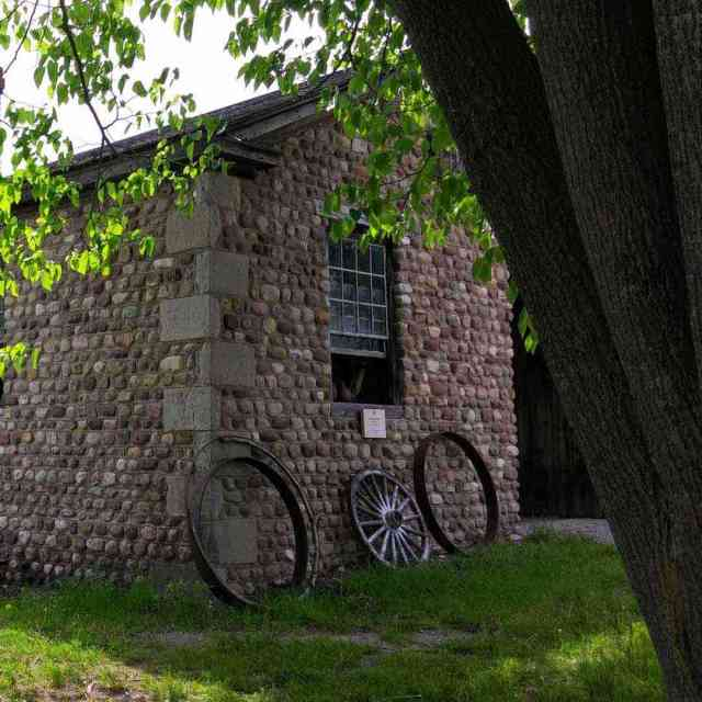 Genesee Country Village and Museum cobblestone