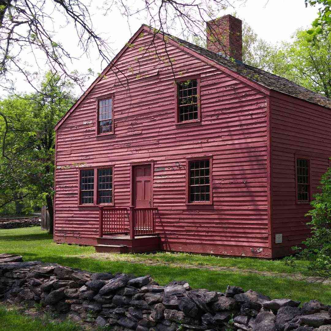 Genesee Country Village and Museum red house