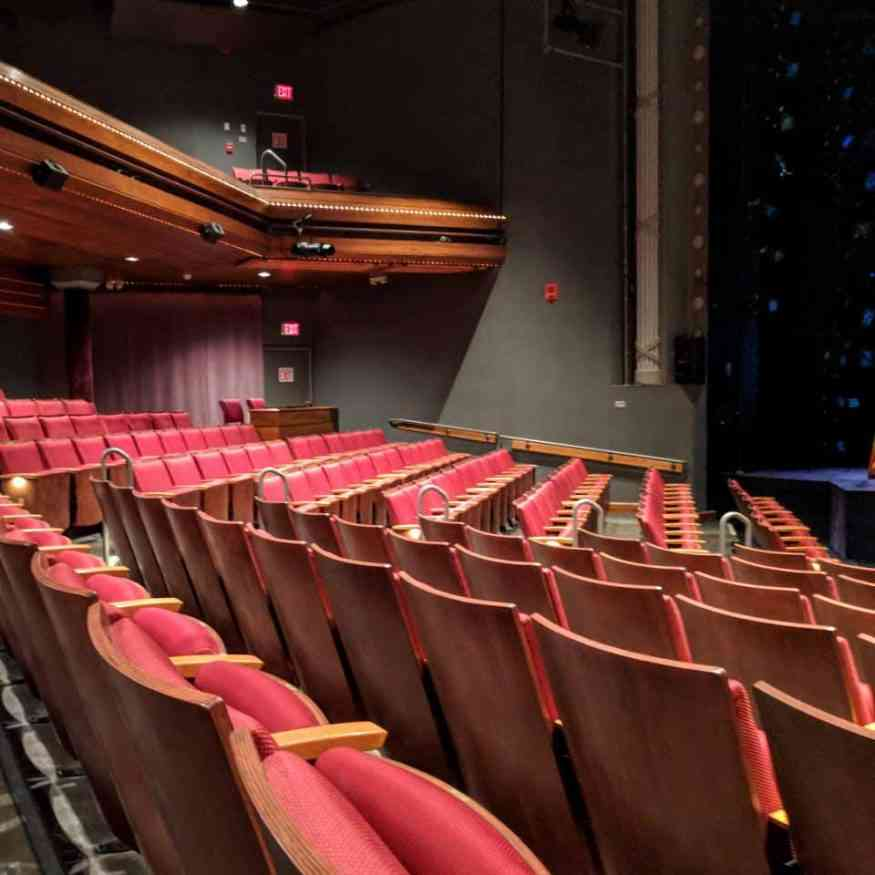 Geva Theater seating