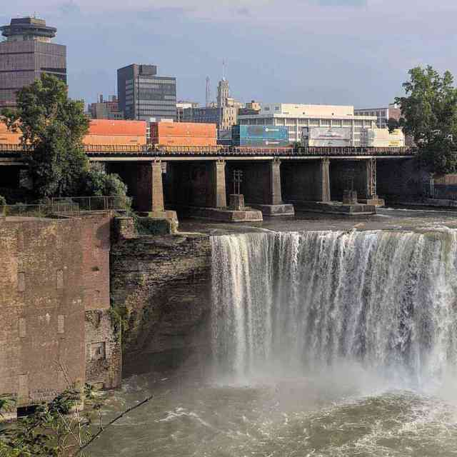 Waterfalls Near Rochester: High Falls Genesee River