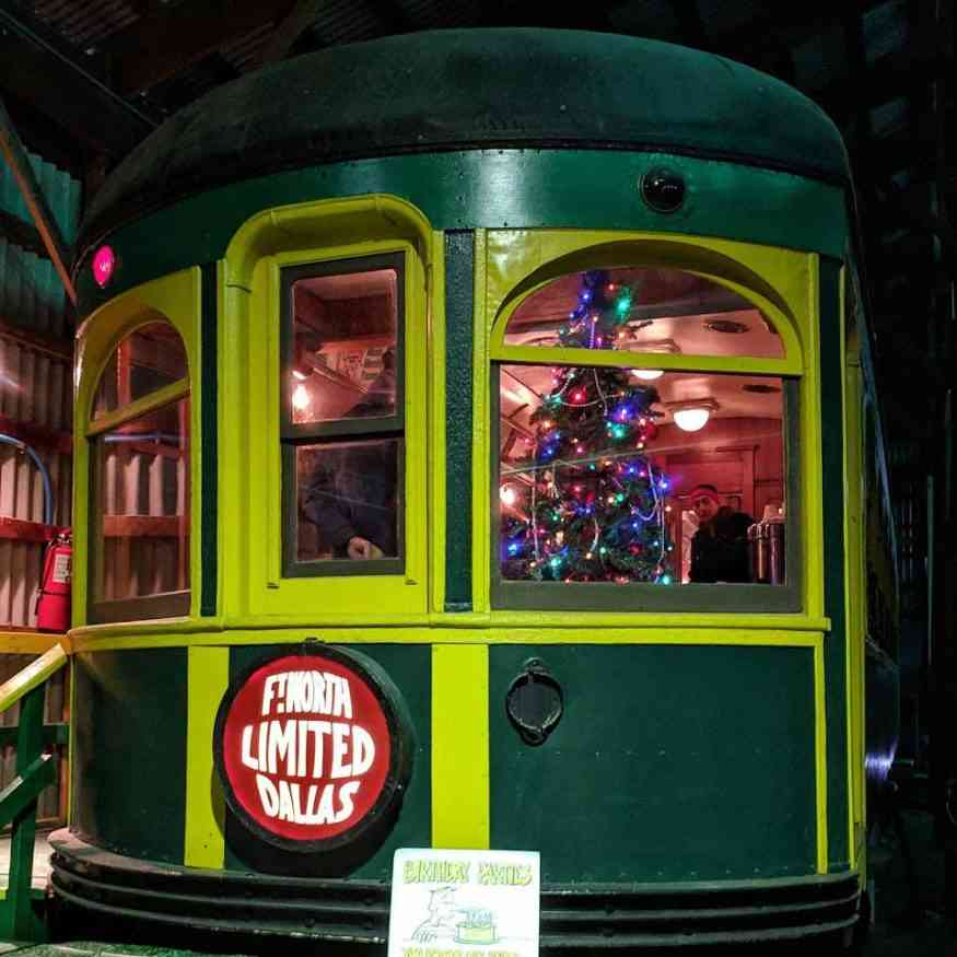 New York Museum of Transportation Christmas Fort Worth Dallas Limited