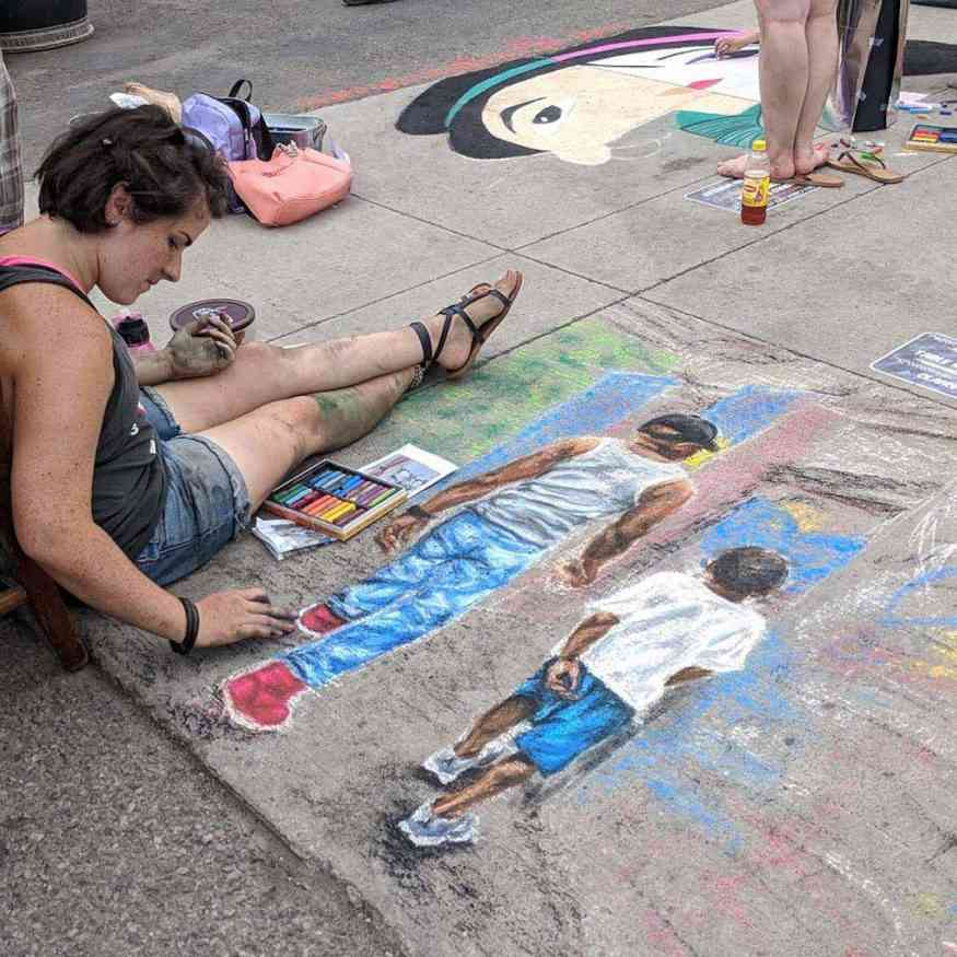 Perry Chalk Art Festival