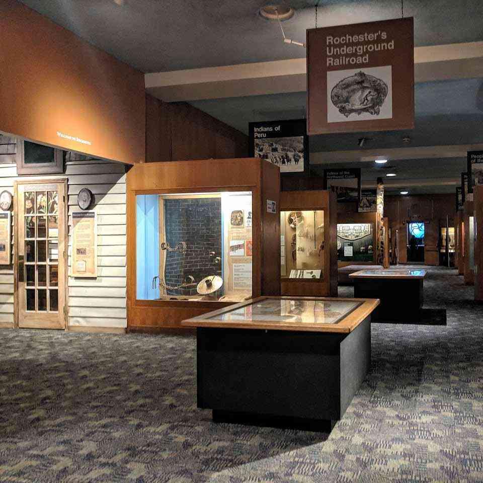 Rochester Museum Science Center underground rail road