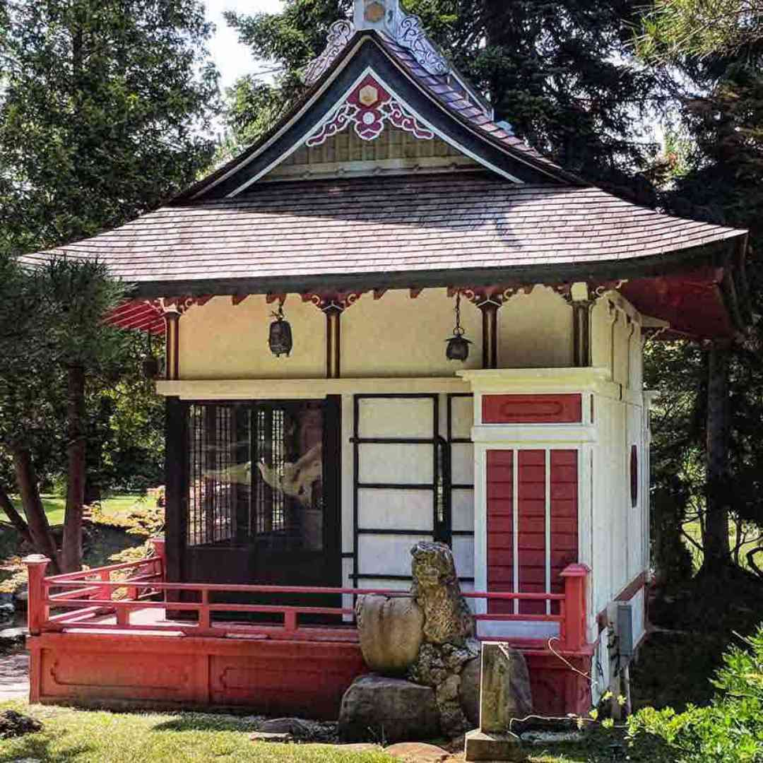 Sonnenberg Gardens Japanese Tea House