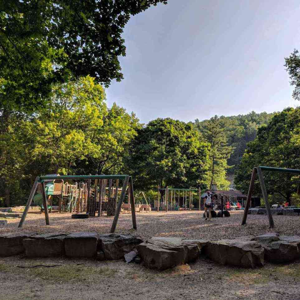 Stony Brook State Park playground