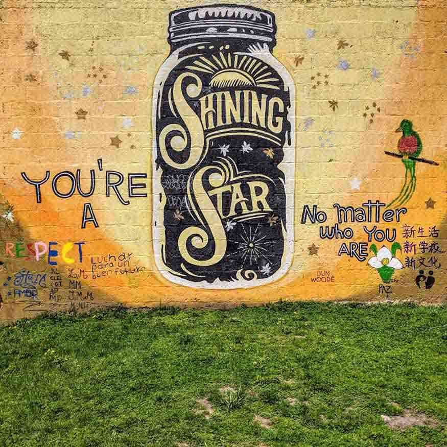 Rochester Wall Art Shining Star
