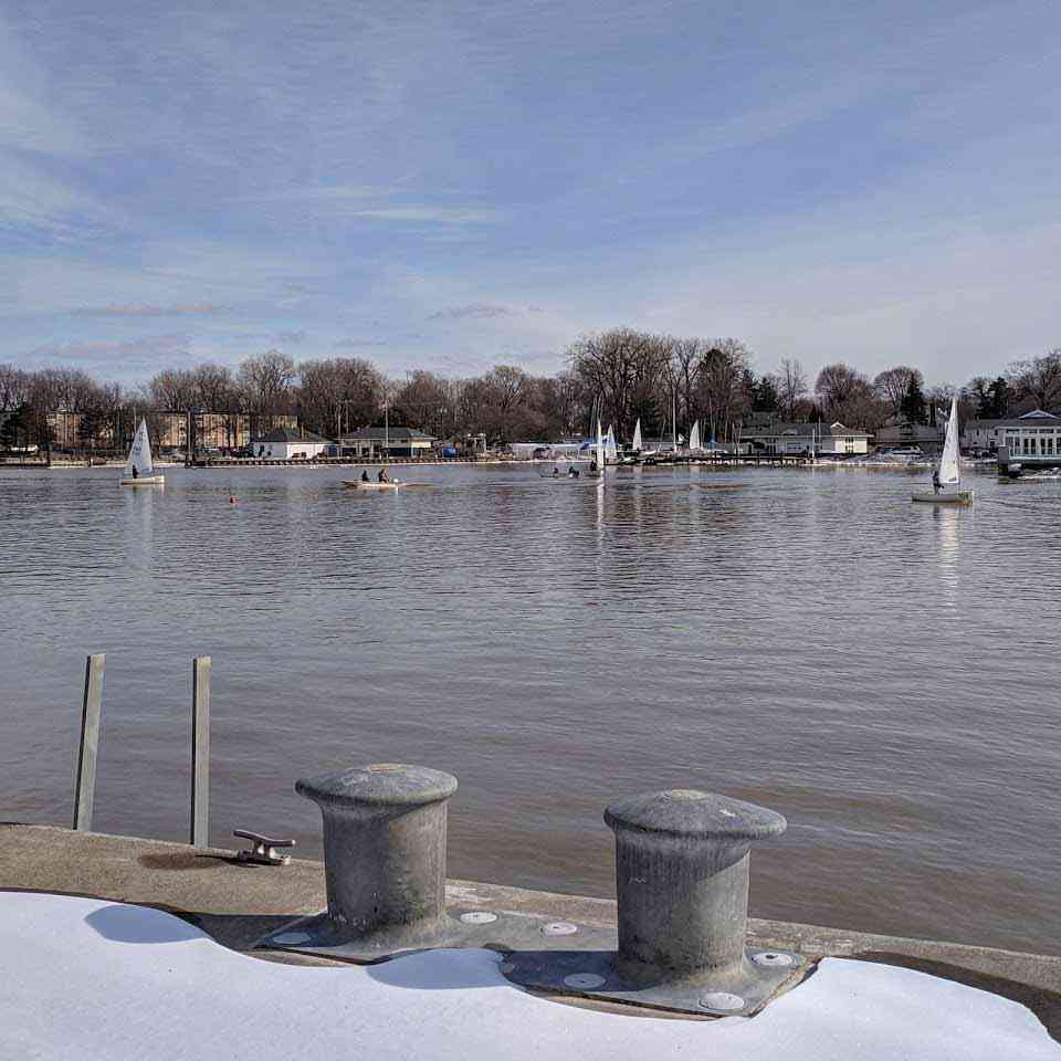 Winter Sailing Genesee River