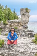 Flowerpot Island Tobermory Bruce Peninsula,