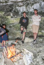 Building a fire, Hiking Trails Ontario, Ontario Hiking, Beautiful Places in Ontario, Things to See in Ontario, Snorkelling in Tobermory,